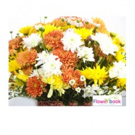 Mix Color Chryshanthimum Flower Arrangement BD015