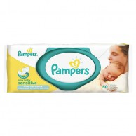 Pampers Baby Wipes New Baby Sensitive 56 Wipes