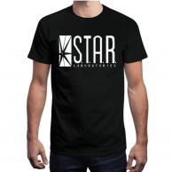 Star Lab Black T shirt for Men
