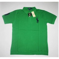 Men's Green Big Pony T Shirt