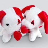 Love Puppy Couple soft toy