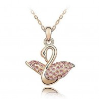 Swan Princess Crystal Necklace