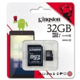 Kingston 32GB Memory Card Class10