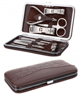 Manicure And Pedicure Set in Leather Case CIPL3903