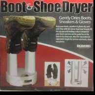 Boot shoe dryer