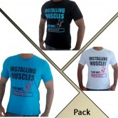 Pack of 3 Gents Tshirts GR001