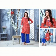 Chandani Kurtha Tops  Cotton Material ID 202