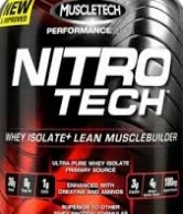 Nitro tech 4Lbs supplement