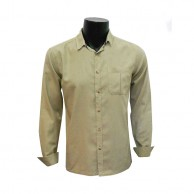 Men's Cream  Shirt C-SF0145LS286