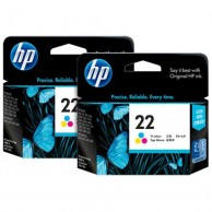 HP Genuine 22 Color Cartridge