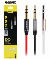 REMAX 3.5MM AUX CABLE MALE TO MALE 2M