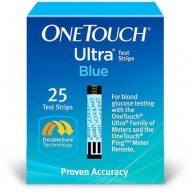 One Touch Ultra 25 Test Strips