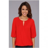 Casual Scoop Neck Womens Top 1066