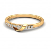 MINIMAL GOLD RING GCR 01