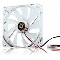 Lighted Fan PC CPU Cooler