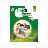 Click2Know-4 with CD A Series On Computer Education D870106
