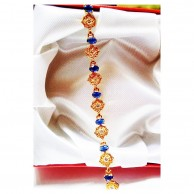 Gorgeous BLUE Flower Bracelet EZBR061