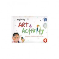 Exploring Art & Activity-4 with CD D890044