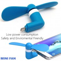 Portable Super Cooling Mini Fan For OTG Mobile Phones