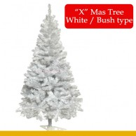 Item X Mas tree white bush Type 8 feet