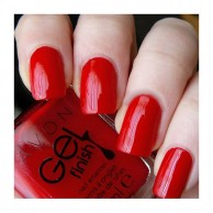 Gel Finish Nail Enamel Roses Are Red Avon 106