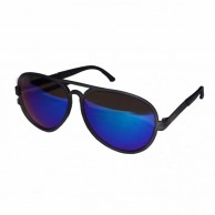Blue Mirror Plastic Aviator