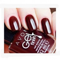 Gel Finish Nail Enamel Wine And Dine Avon 111