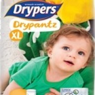 Drypers Baby Diapers  DryPantz XL 18 pcs