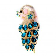 Peacock Design Hair Clip