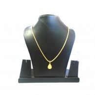 Gold Colour Womens Necklaces With Pendant