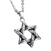 Star Necklace for Men's