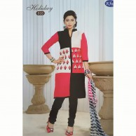Holiday Cotton Embroidered Shalwar Material 010