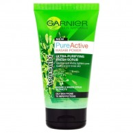 Garnier Face Scrub Pure Active Wasabi Power 150ml