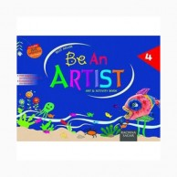 Be An Artist-4 Art & Activity Book D890124