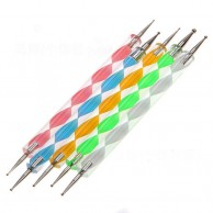 5 x 2 way Nail Art Dotting Tools Kit