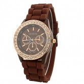 Women's Fashion Watches -Coffe Brown