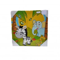 Animals Canvas Picture Frame