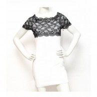 Lace Women Dress - White