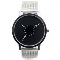 Paidu Men's Black Dial Wrist Watch