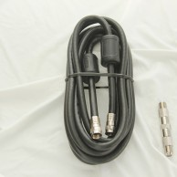 TV Video Lead 300Cm Cable With F Plugs
