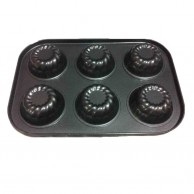 6 Pcs Cup Cake Tray