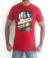 Fast & Furious Men's T-Shirt Red
