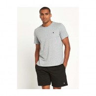 Men's Gray Crew Neck T Shirt