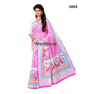 Branded Printed Cotton Saree 3083