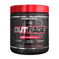 nutrex outrage pre workout supplement