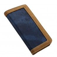 iPhone 6 and 6S Jeans Leather Flip Case