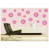 Summer Flowers Wall Stickers