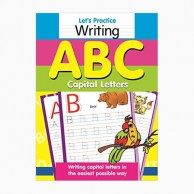 Let's Practice Capital Letters Abc-1 B320212