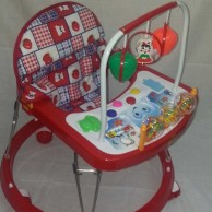 Baby walker with music Red
