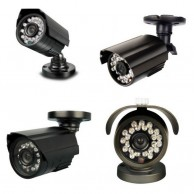 700TVL CCTV Bullet Dome Camera 3.6mm